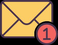 Ikonka pomoc email (mobile)